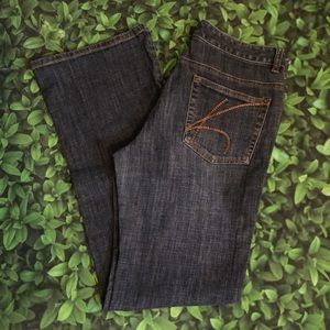 Michael Kors boot cut jeans sz 29/8
